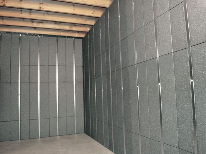 basement wall ideas not drywall. SilverGlo  insulation and metal studs making up our Basement to Beautiful panels Installed Insulated Wall Panels Insulation