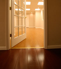 Basement Wood Flooring installed in Independence, Kansas and Missouri