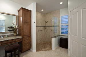Walk-in Shower Enclosure